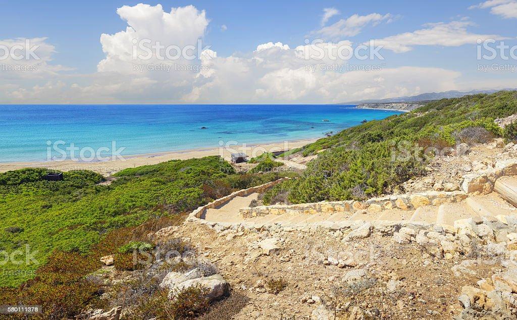Akamas Peninsula. Cyprus. stock photo