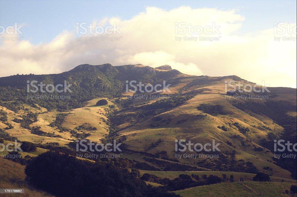 Akaroa, New Zealand royalty-free stock photo