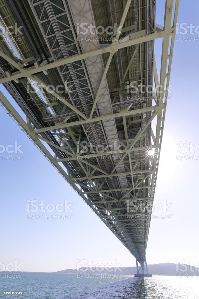 Akashi Kaikyo Ooashi royalty-free stock photo