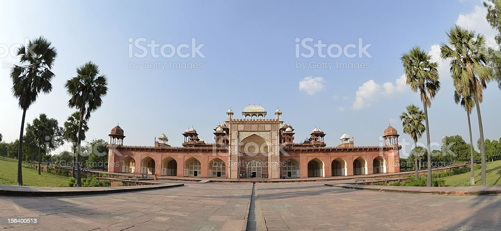 Akbar the Great mausoleum stock photo