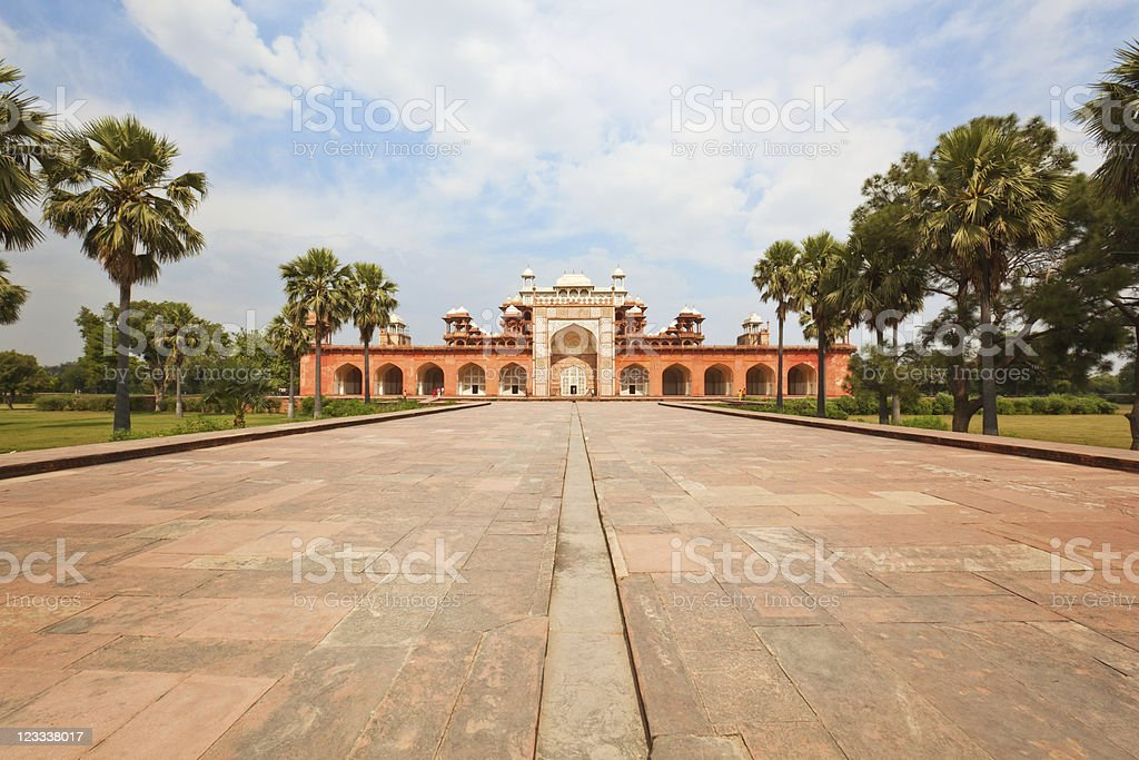 Akbar's Tomb stock photo