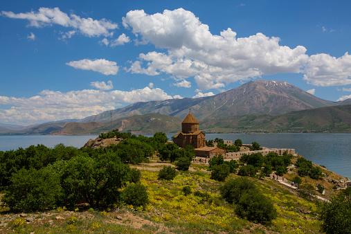 Akdamar Island church on Van Lake Turkey
