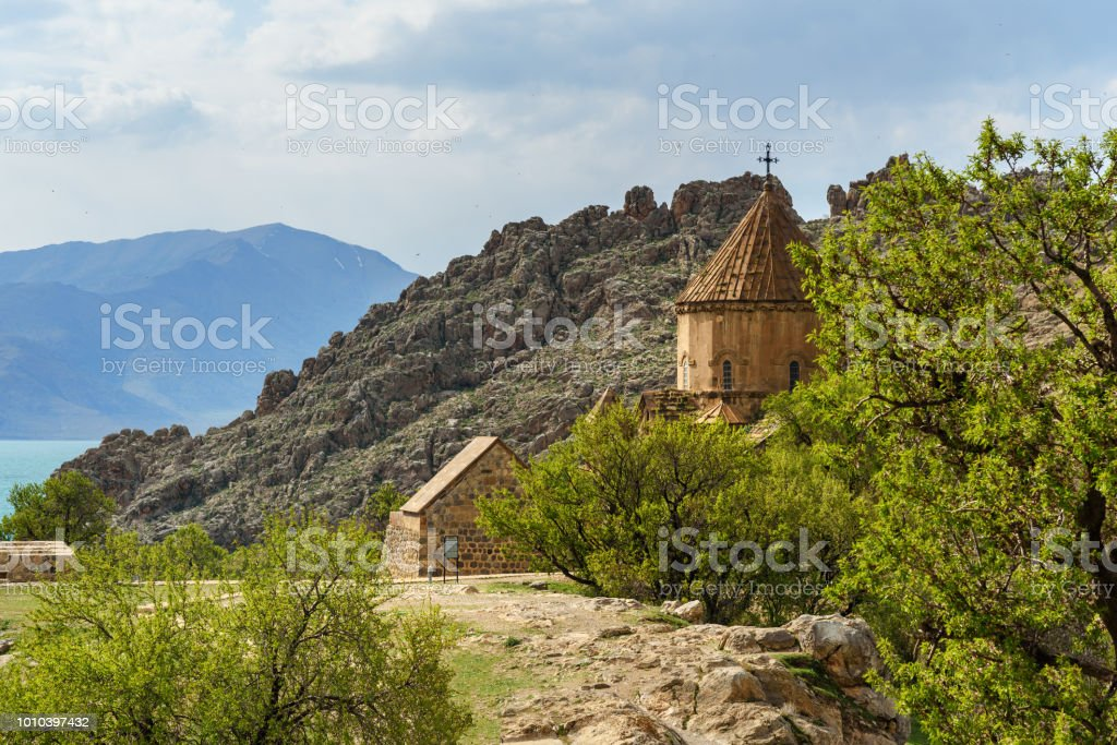 dfc772a1f6 Akdamar Island In Van Lake Turkey Stock Photo   More Pictures of ...