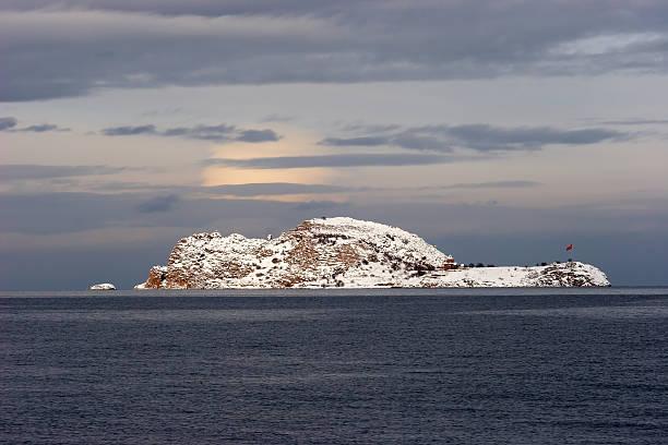 악다마르 섬의 반 호수, 터키 스톡 사진