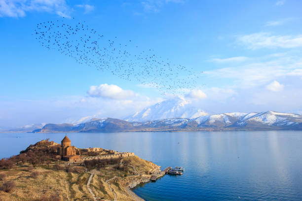 86709598cd Akdamar Island stock photo · Van Lake ...