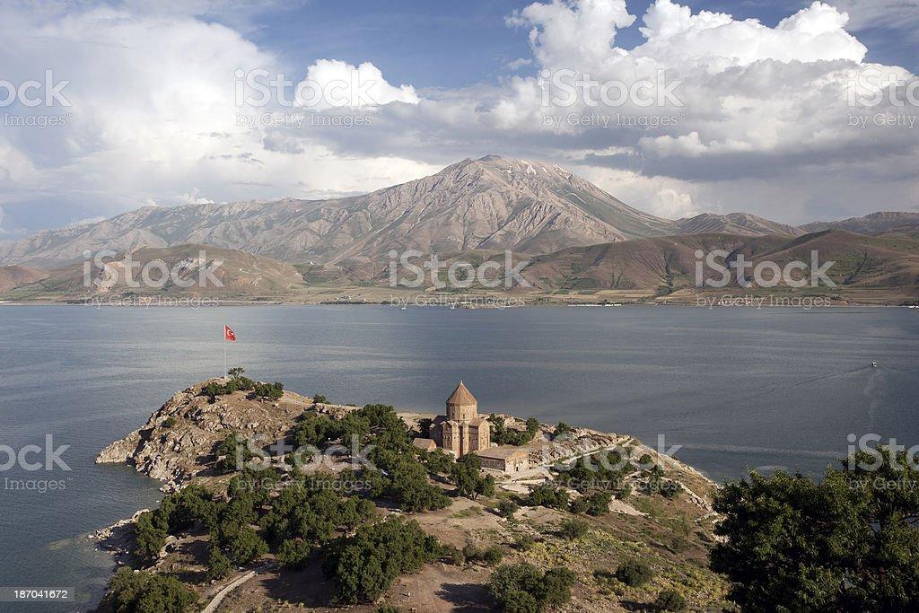 Akdamar Island, Van, Turkey stock photo