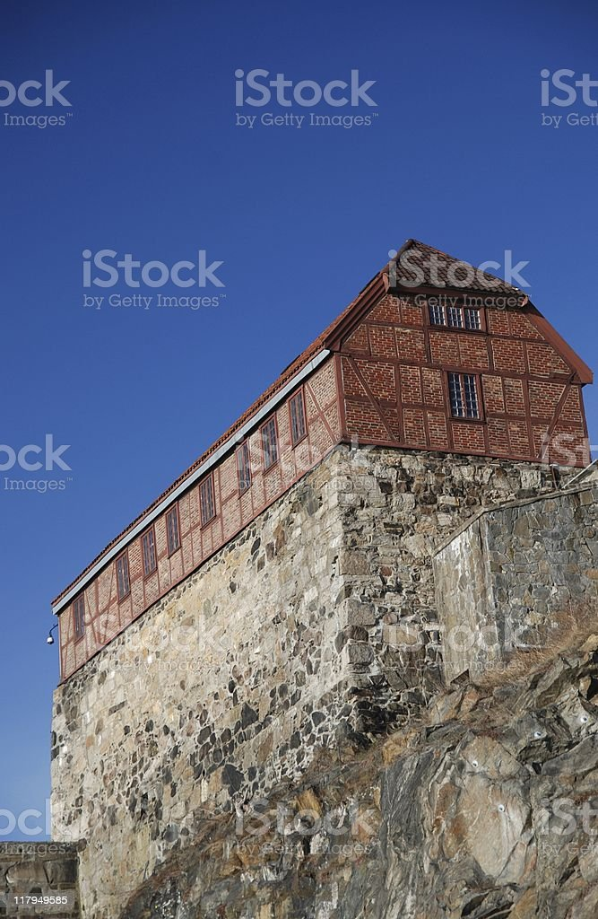 Akershus Fortress royalty-free stock photo