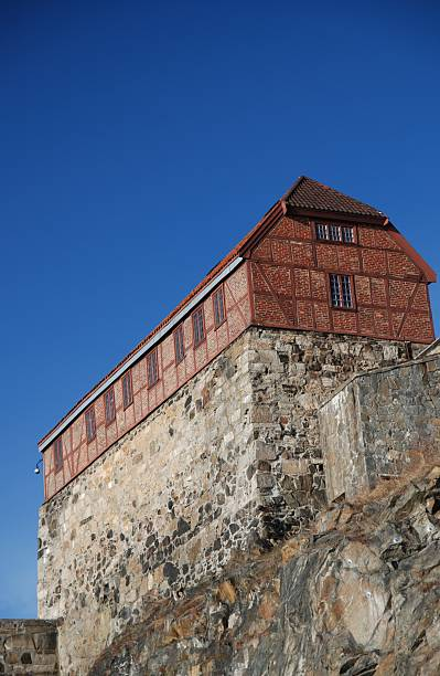 Akershus Fortress stock photo