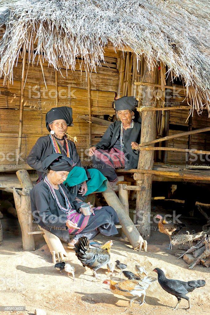 Akhi Ethnic Women stock photo
