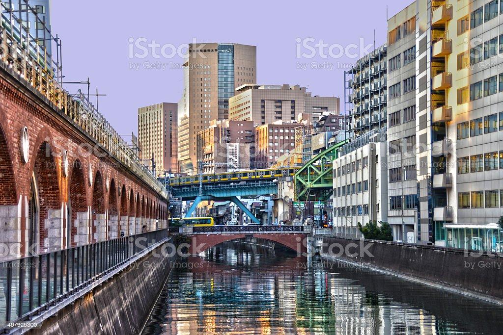 Akihabara HDR stock photo