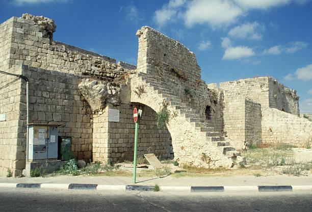 Akko, in Israel stock photo