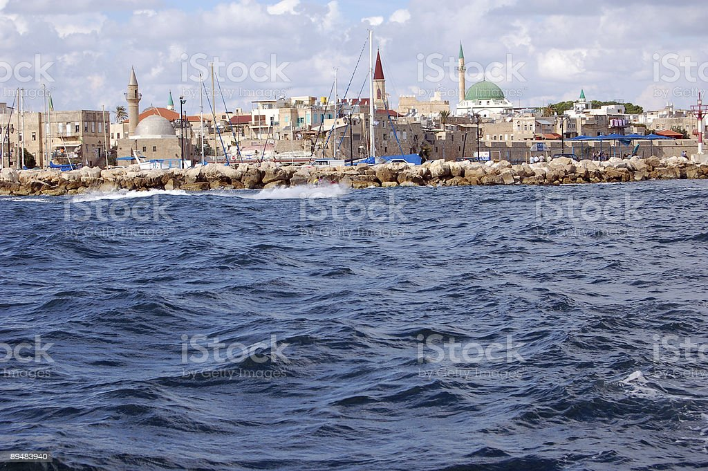Akko Israel stock photo