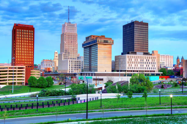Akron, Ohio stock photo