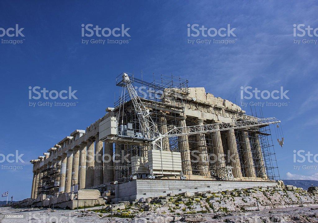 Akropolis stock photo
