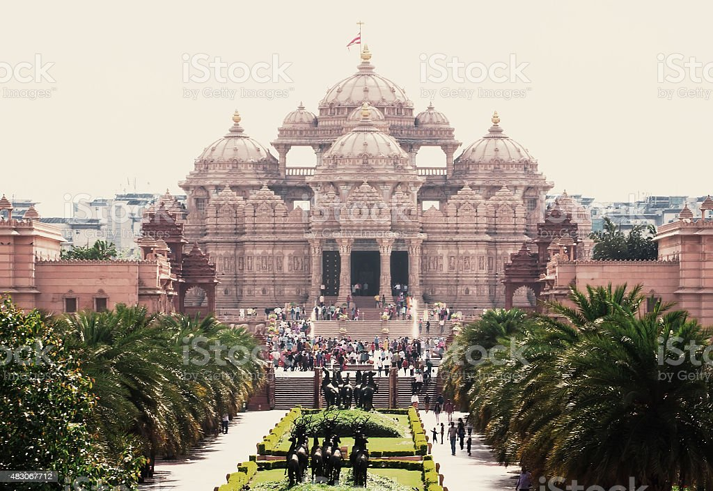 Akshardham temple new delhi india stock photo more pictures of akshardham temple new delhi india royalty free stock photo altavistaventures Gallery
