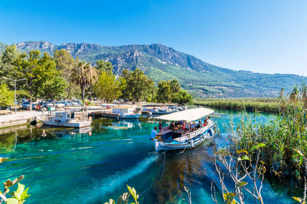 Akyaka Village in Turkey stock photo