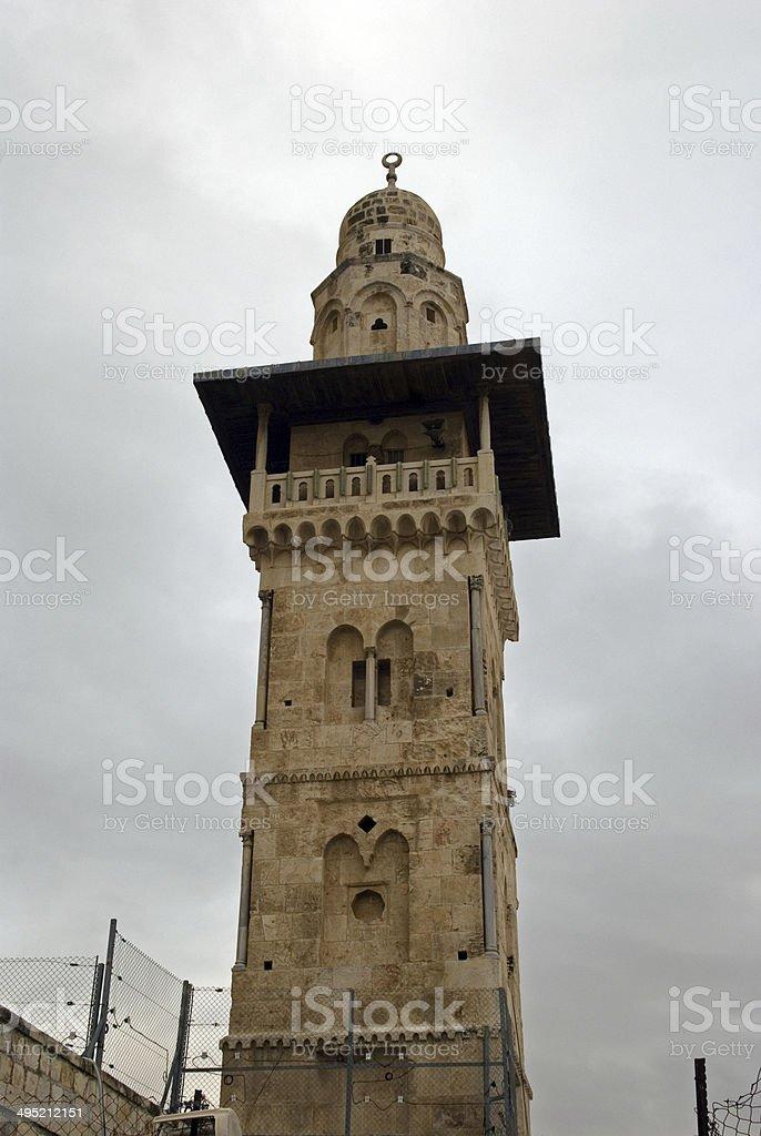 Al Aksa Mosque, Jerusalem, Israel stock photo