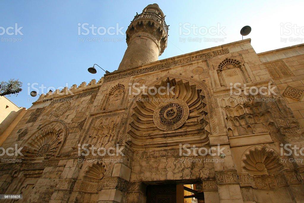 Al Aqmar Mosque royalty-free stock photo