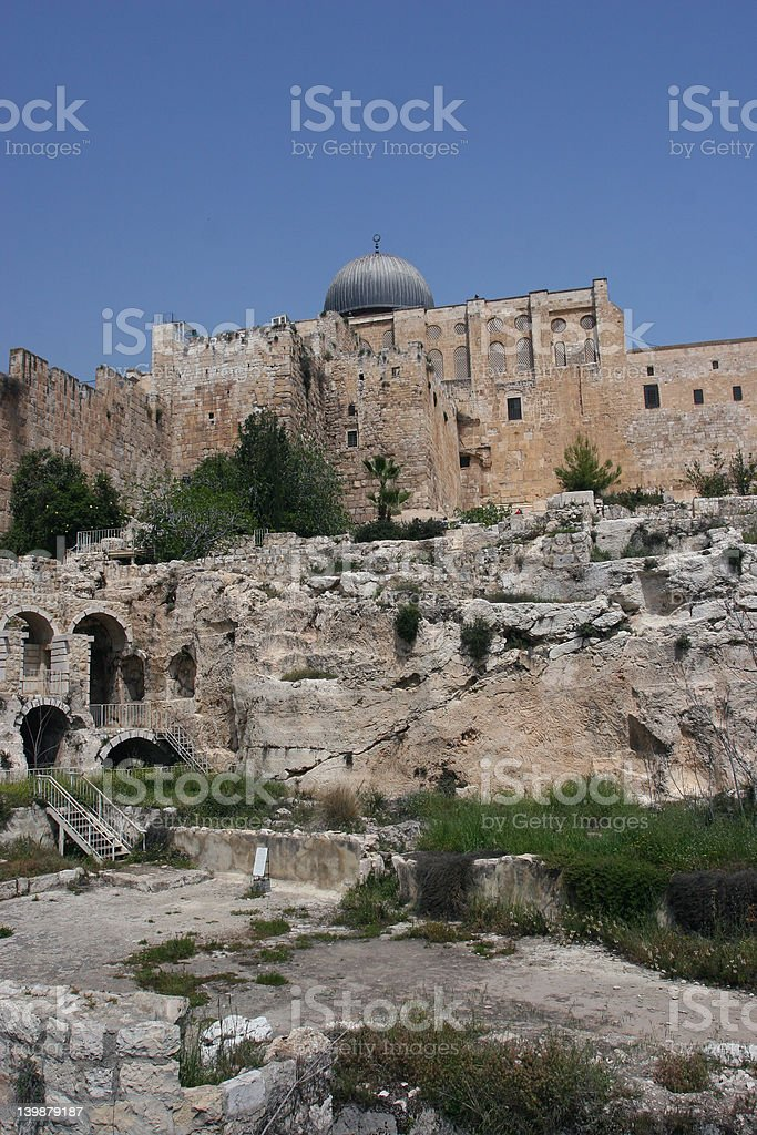 Al Aqsa Mosque, royalty-free stock photo