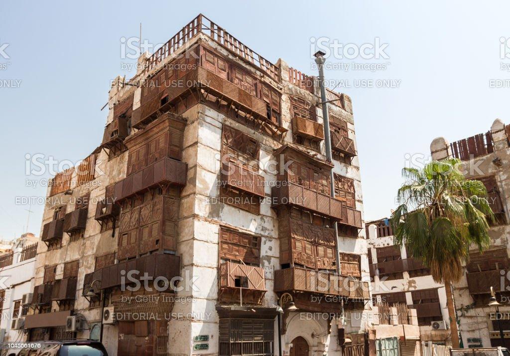 Al Balan town in Saudi Arabia stock photo
