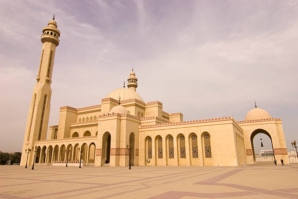 Al Fateh mosque Bahrain  grand mosque stock pictures, royalty-free photos & images