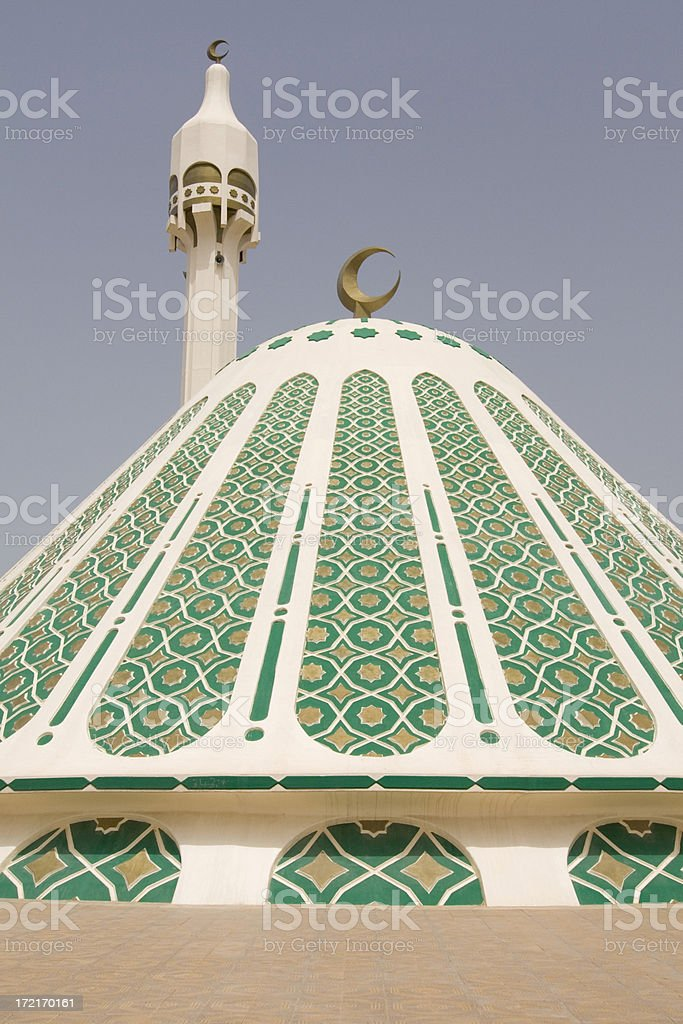 Al Fatima mosque Kuwait royalty-free stock photo