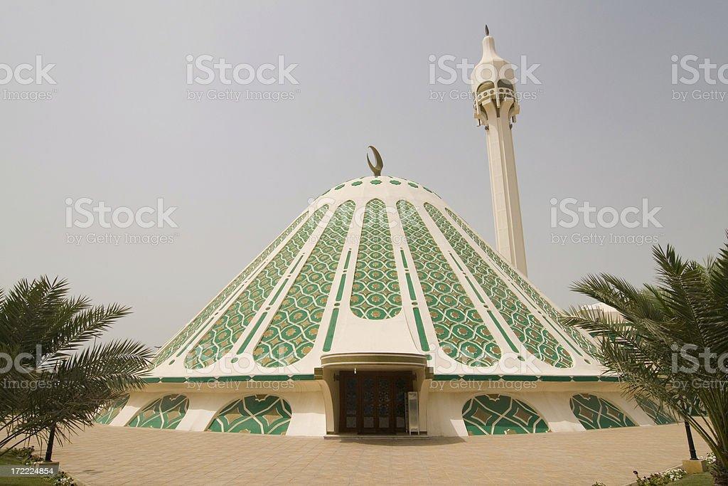 Al Fatima mosque Kuwait stock photo