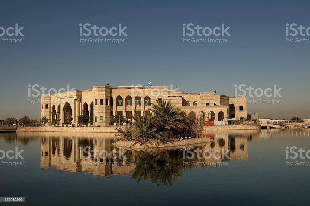 Al Faw Palace, Bagdad Iraq. - foto de stock