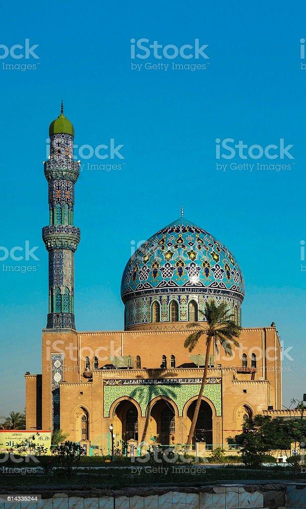 Al Fidos Mosque in Baghdad, Iraq - foto de stock