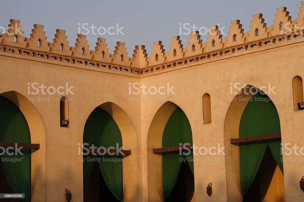 Al Gamalya photo libre de droits
