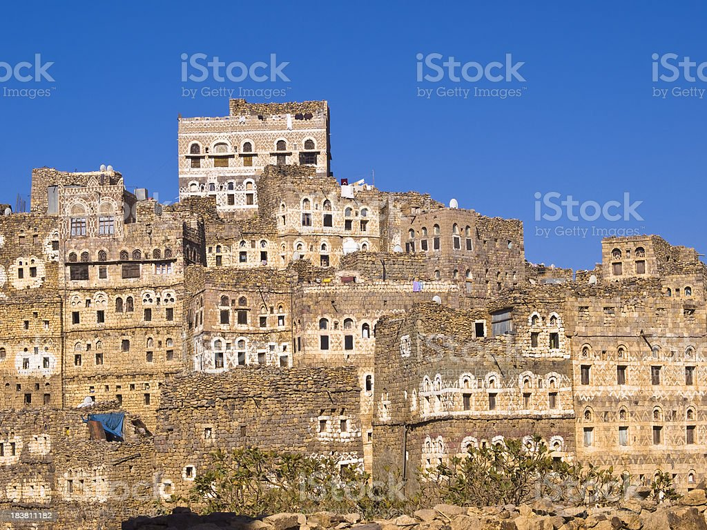 Al Hajjara stock photo