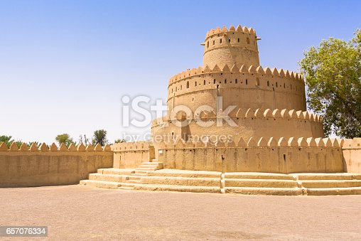 istock Al Jahili fort, Al Ain, Abu Dhabi, United Arab Emirates 657076334