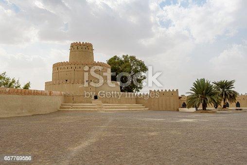 istock Al Jahili fort, Al Ain, Abu Dhabi, United Arab Emirates 657769586