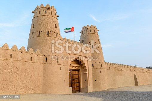 istock Al Jahili fort in Al Ain, Abu Dhabi, United Arab Emirates 657771980
