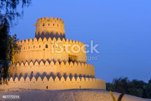 istock Al Jahili fort in Al Ain, Abu Dhabi, United Arab Emirates 657772214