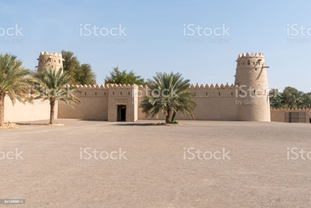 Al Jahili Fort In Al Ain The Garden City Of The United Arab Emirates Is A Former Home Of The Abu Dhabi Al Nahyan Ruling Family Stock Photo Download Image Now
