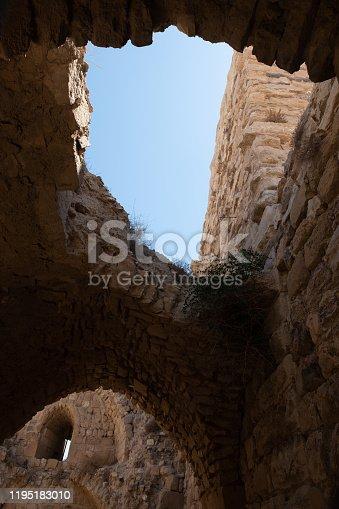 medieval crusaders castle, Al Karak, Jordan, Middle East