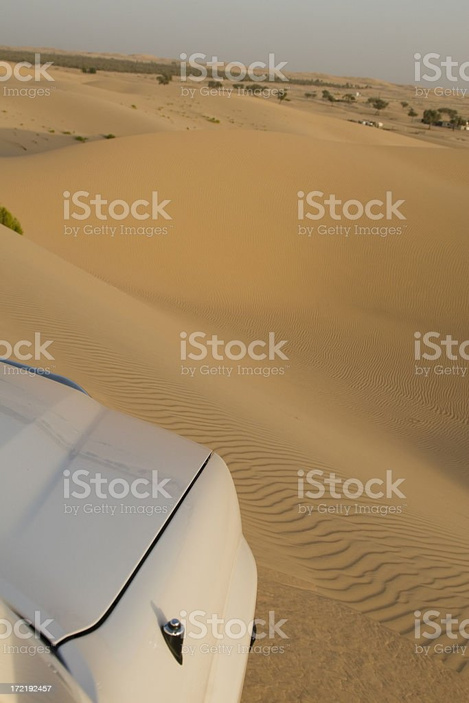 Al Khatim Desert royalty-free stock photo