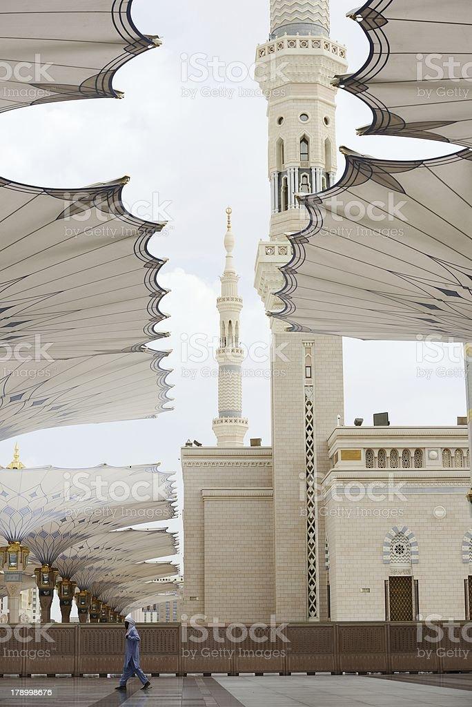 al Madina mosque royalty-free stock photo