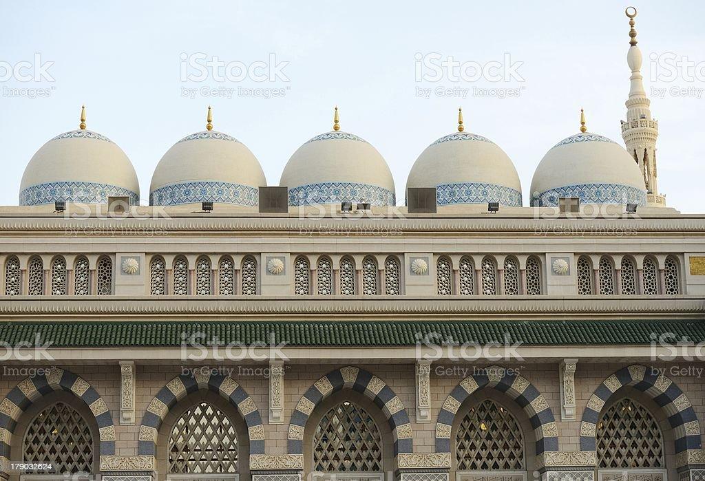 al Madina mosque stock photo