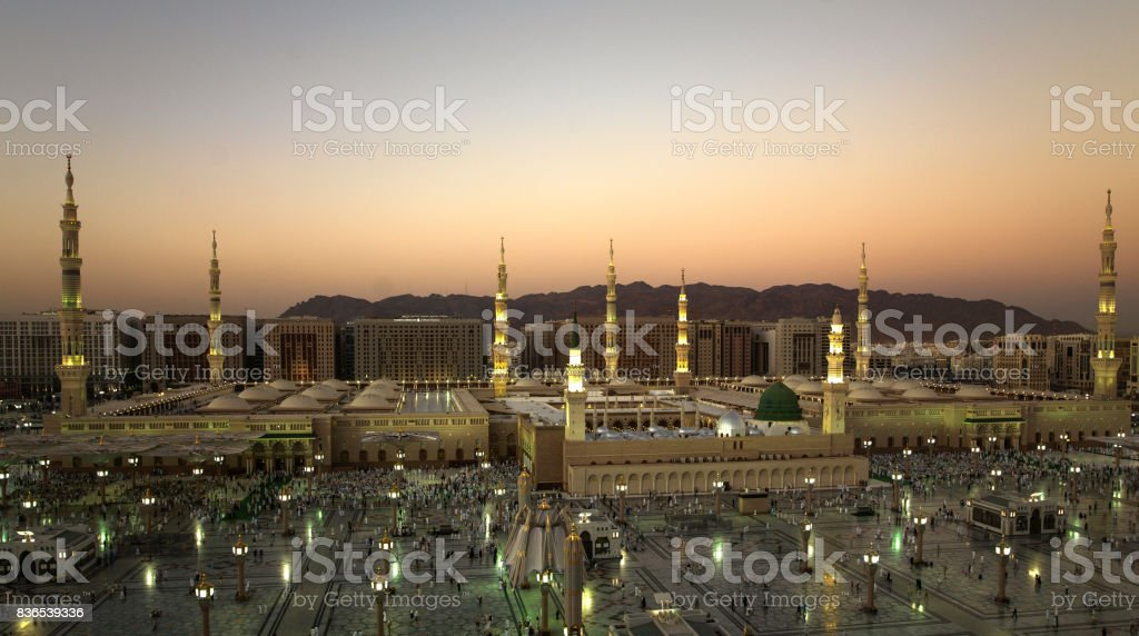 Al Masjid an Nabawi stock photo