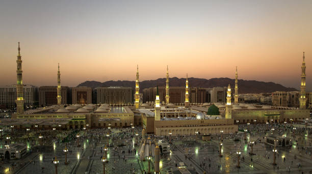 Al Masjid an Nabawi stock photo