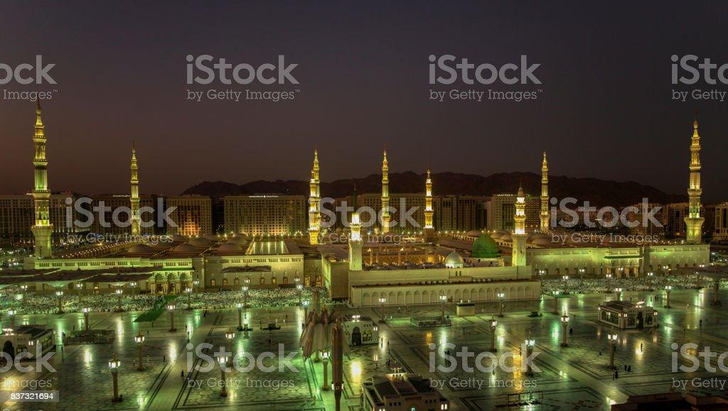 Al Masjid An Nabawi Masjid an Nabawi - Madinah Al Munawwarah  -  Madinah / Saudi Arabia Al Madinah Stock Photo