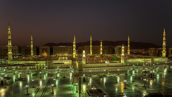Al Masjid An Nabawi Stock Photo - Download Image Now