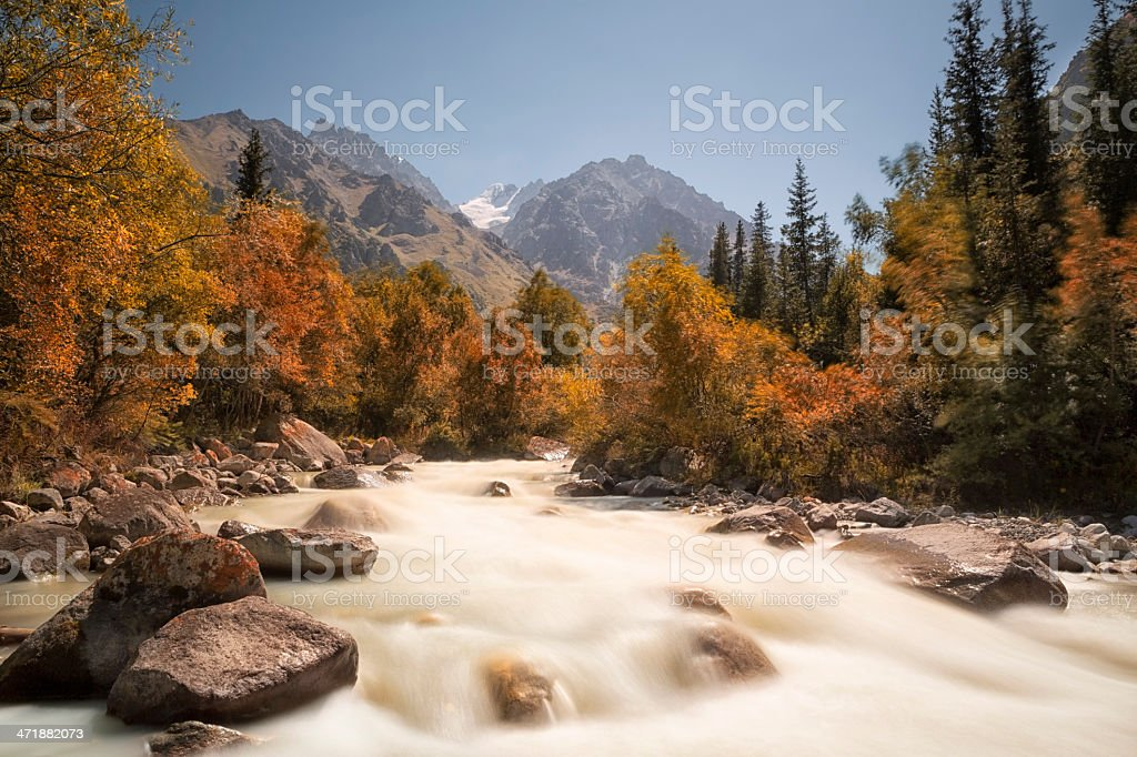 Ala Archa National Park, Kyrgyzstan stock photo