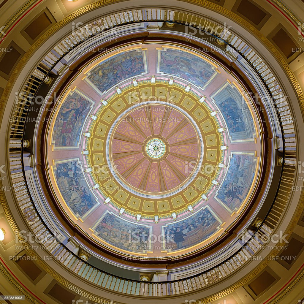 Alabama Capitol Dome stock photo