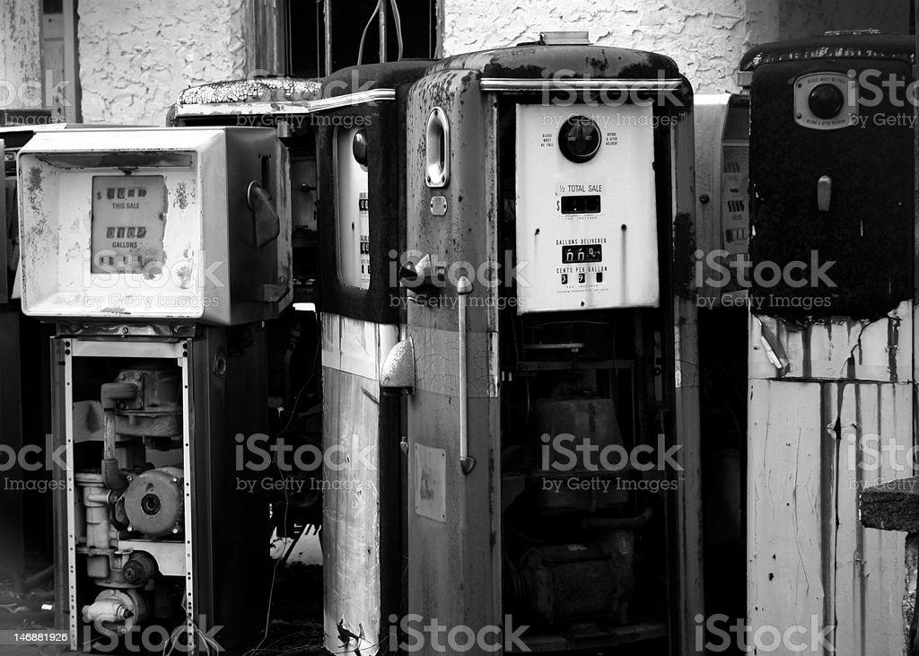 Alabama Gas Pumps royalty-free stock photo
