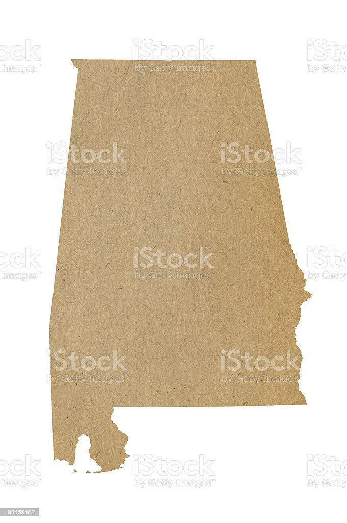 Alabama Recycles stock photo