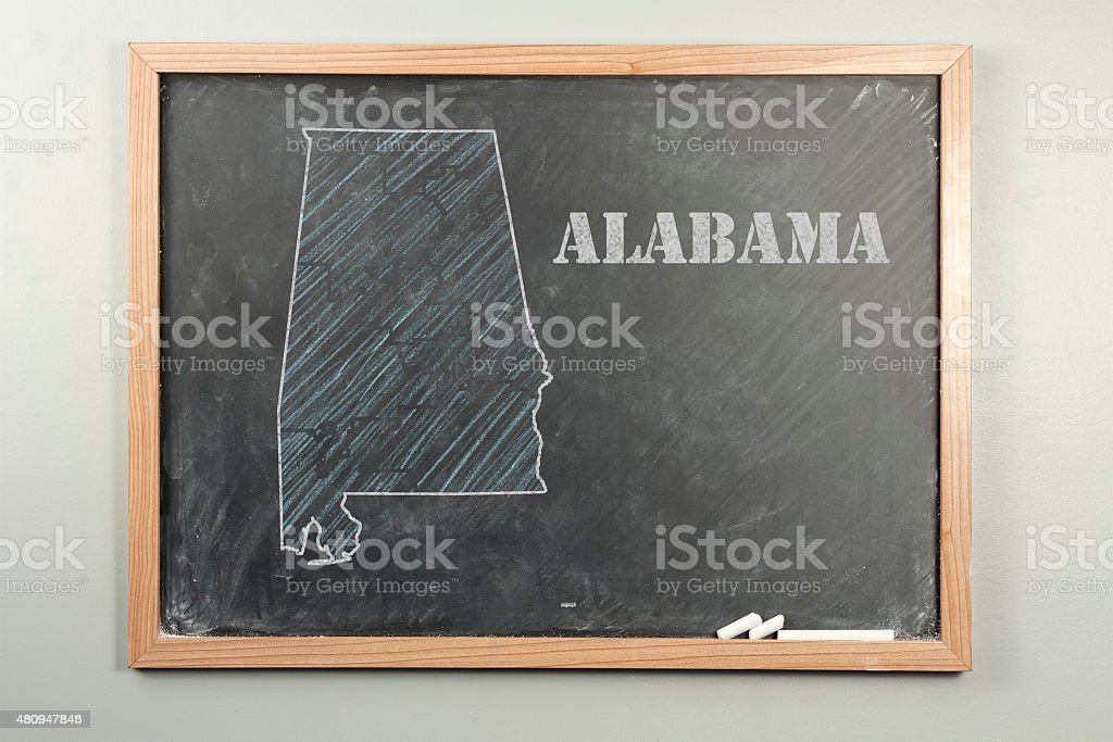 Alabama State stock photo