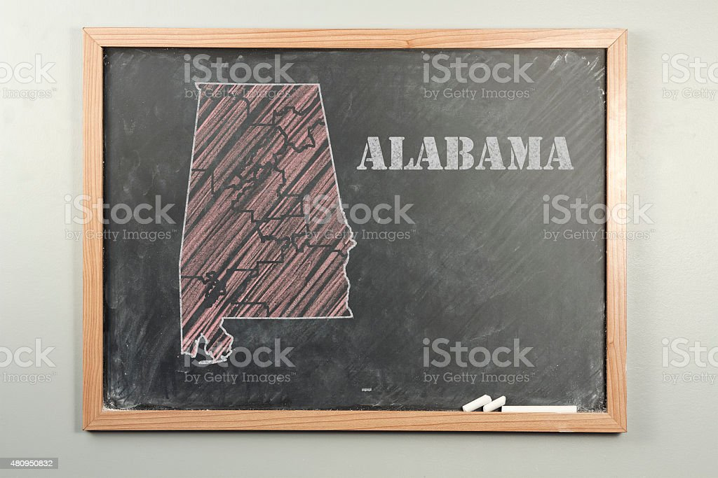 Alabama State stock photo